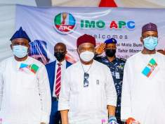 APC Southeast Constitutional review Committee led by Professor Tahir Mamman SAN visits Imo Stae - Governor Hope Uzodinma - 9News Nigeria