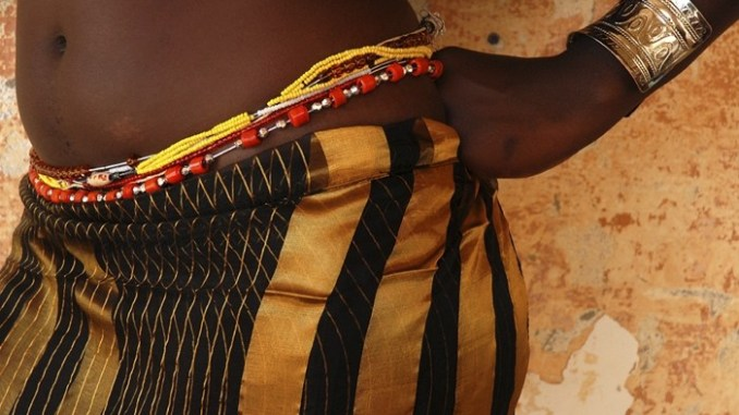 Culture of wearing beads