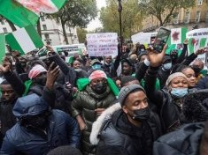 Buhari Must Go Protesters In London