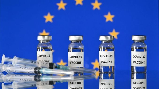 Covid-19 Vacciness in Europe