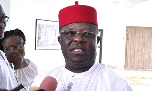 Ebonyi State Governor, David Umahi in trouble