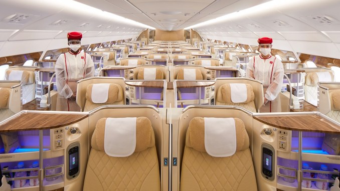 Emirates keeps trust in the air and marks vaccination rollout with UAE milestone