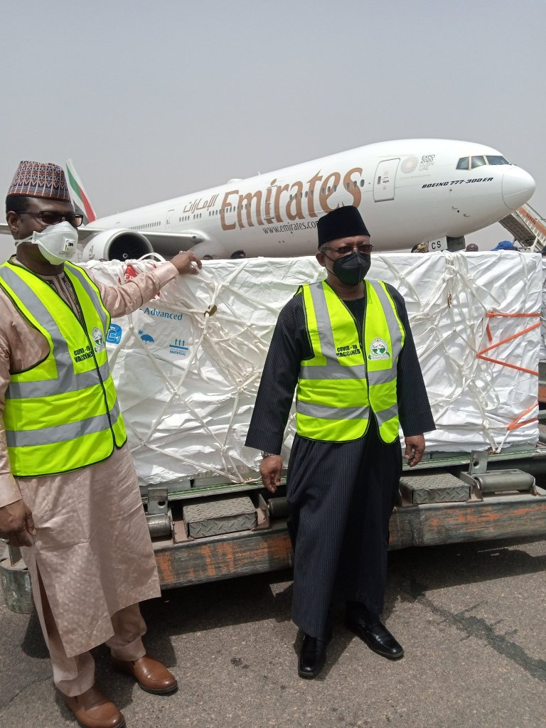 First batch of Covid-19 Vaccines Arrive in Nigeria today - images 1