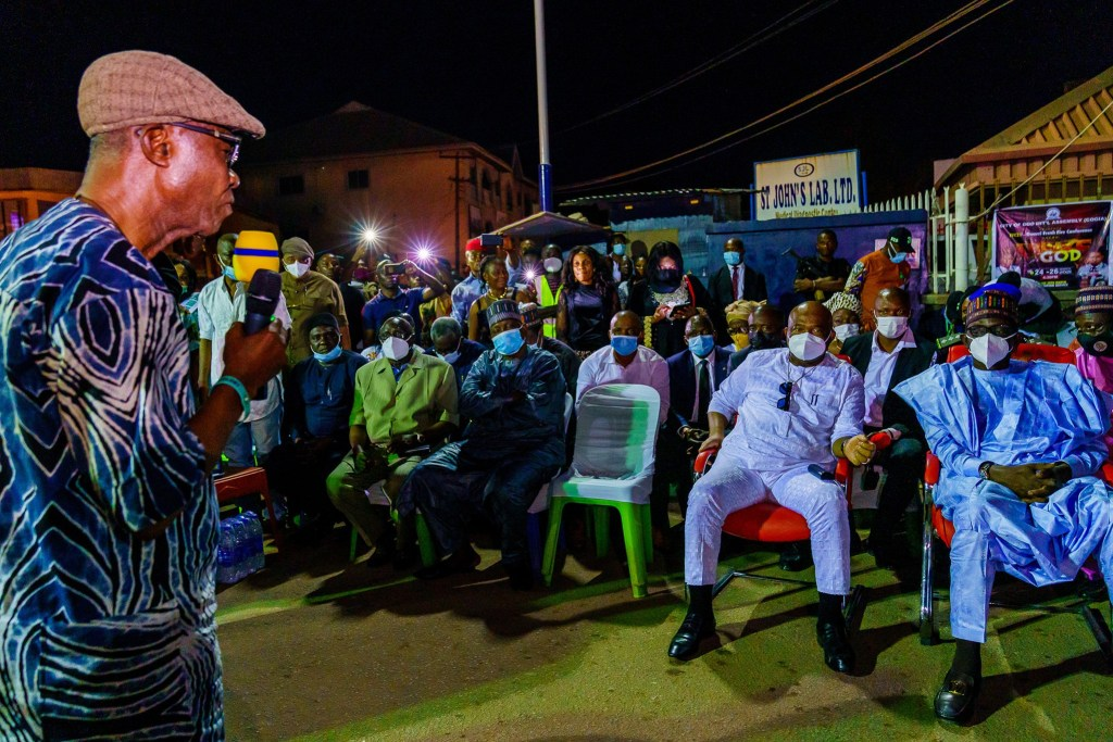 Governor Hope Uzodinma - Commissioning of MCC Relief Market Egbu Road - 9News Nigeria