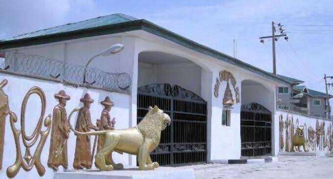 Oba of Lagos' palace