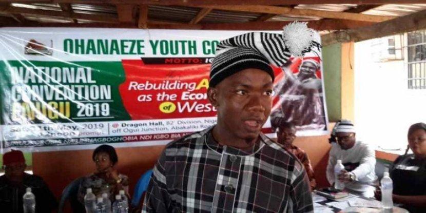 Ohanaeze Youth President, Comrade Igboayaka O. Igboayaka