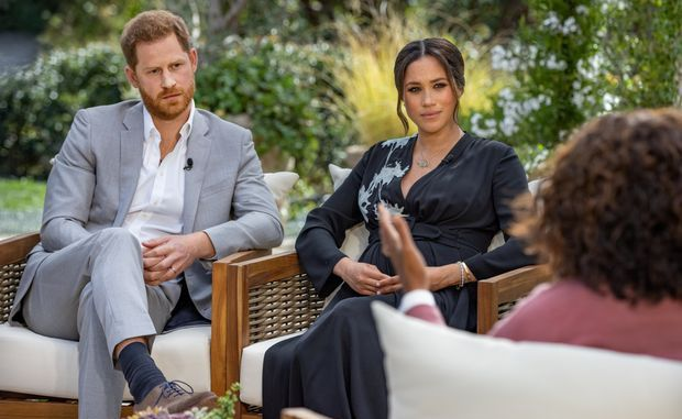 Oprah Winfrey and Meghan and Harry interview