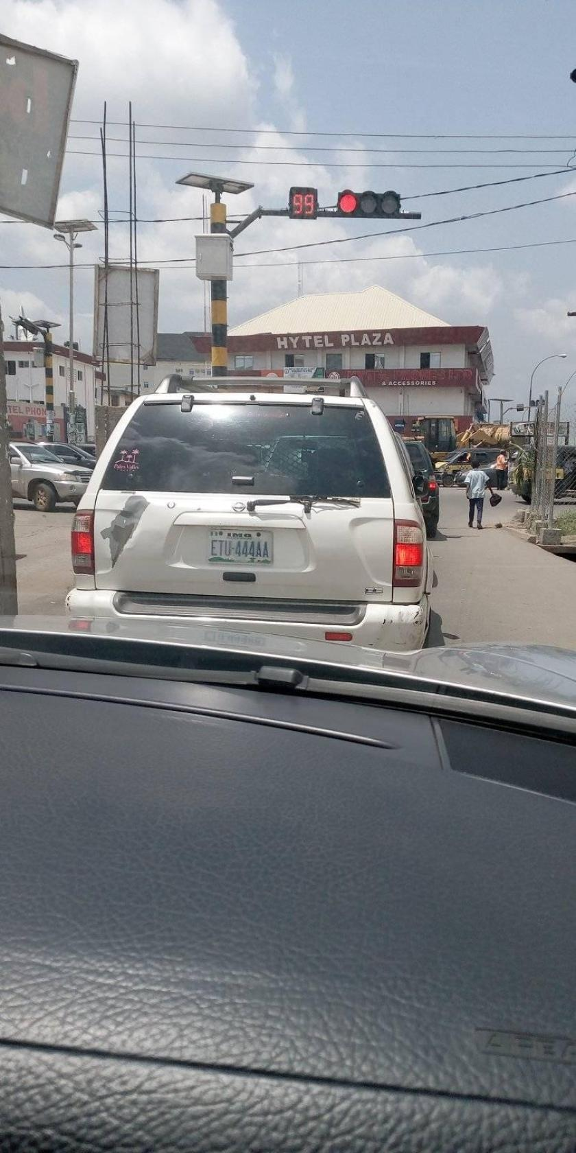 Traffic Lights are back in Owerri