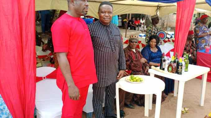 UMUOMA NEKEDE IMO STATE WAS AGOG AS PG NWANERI GOES TO CHURCH; GOVERNMENT OFFICIALS WERE PRESENT 9NEWS NIGERIA