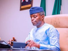 Vice President of Nigeria, Yemi Osinbajo in office