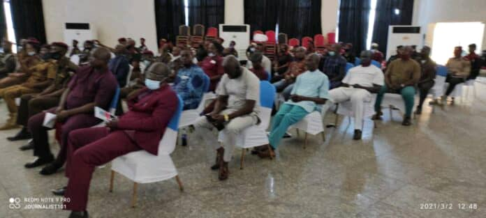 SENSITIZATION ON COMMUNITY POLICING HOLDS IN ENUGU STATE