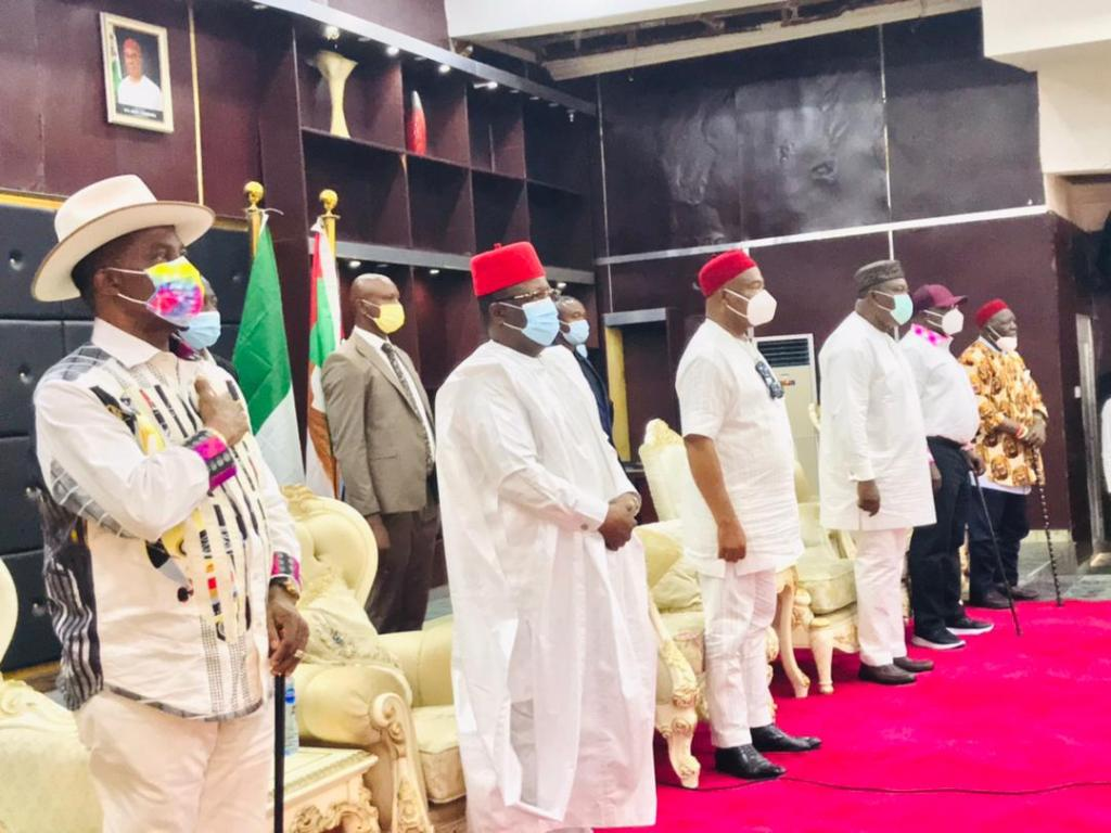 'EBUBE AGU'- South-East Governors Establish New Security Outfit To Tackle Rising Insecurity In The Region - images