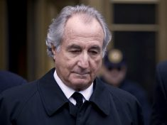 American Billion Dollar Investment Ponzi Schemer, Bernie Madoff dies in prison at 82