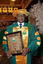 Bako Wakil conferred with the Fellowship of the Nigerian Institute of Electrical and Electronic Engineers (FNIEEE)