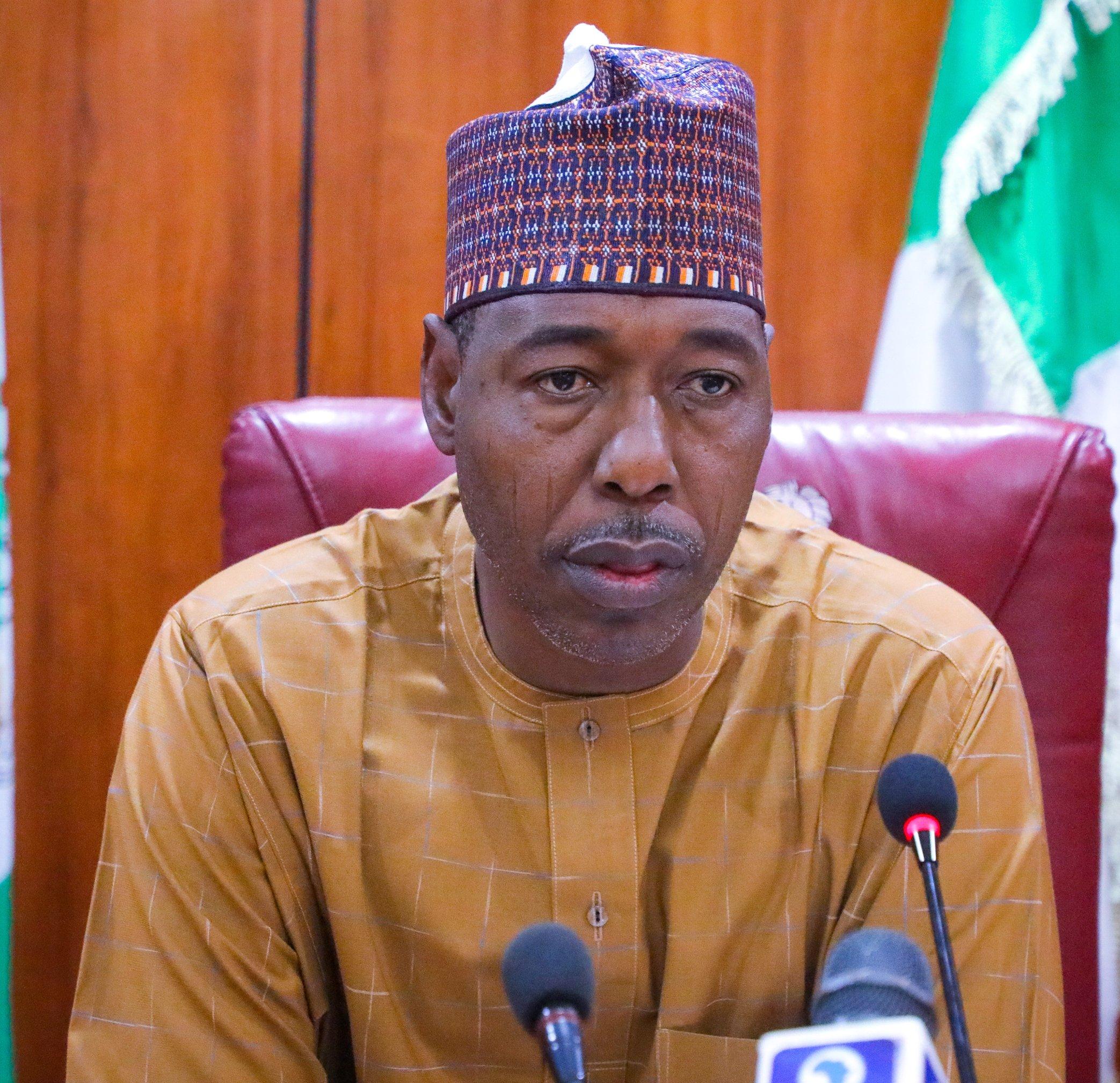 Borno State governor, Prof Babagana Umara Zulum