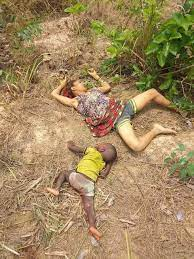 Ebonyi state Attack- Mother and child butchered by the attackers