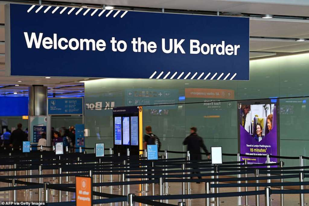 Heathrow Airport - Welcome to UK Border