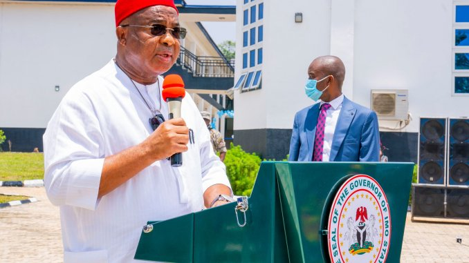 Hope Uzodinma Commends Governor Okezie Ikpeazu following the Central Bank Intervention Projects commissioning in Abia State - 9News Nigeria