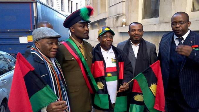 IPOB Biafrans London