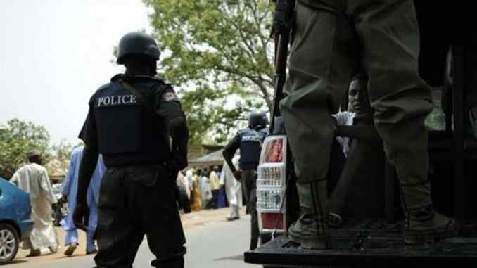 Nigerian Police Officers Abuja