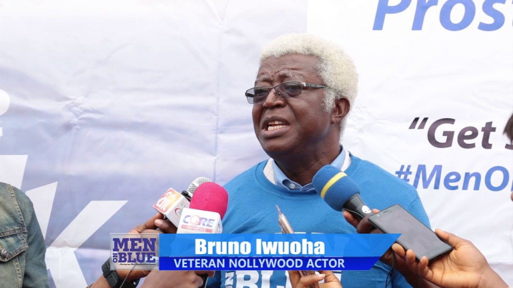 Nollywood veteran actor, Bruno Iwuoha is dead