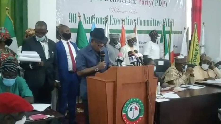 90th National Executive Committee (NEC), Meeting of the Peoples Democratic Party