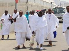 Saudi Pilgrims