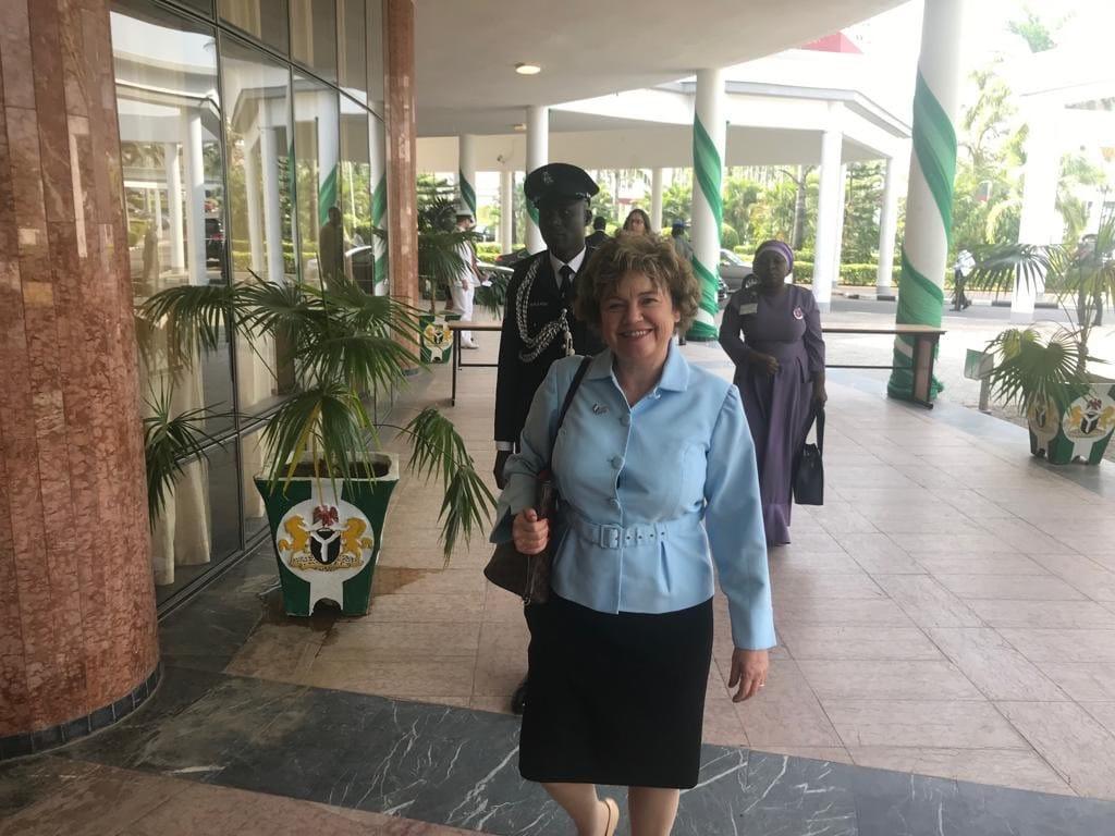 UK Commissioner, Catriona Laing in Nigeria
