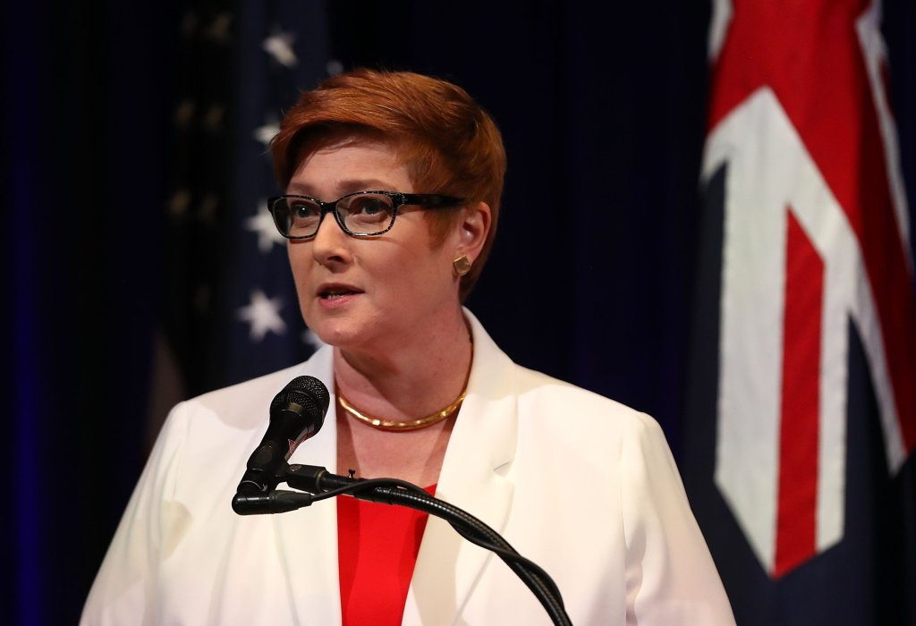 Australian Foreign Minister, Marise Payne