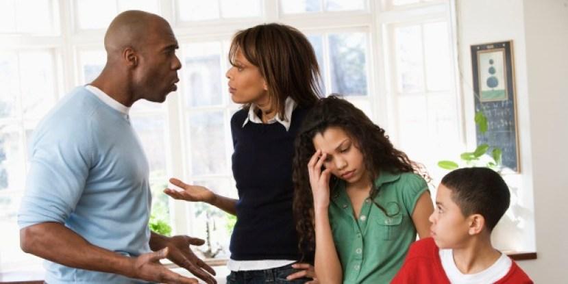 Family argument: Divorce lies to children about God