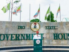 Governor Hope Uzodinma addresses the people of Imo State Over Security Threats