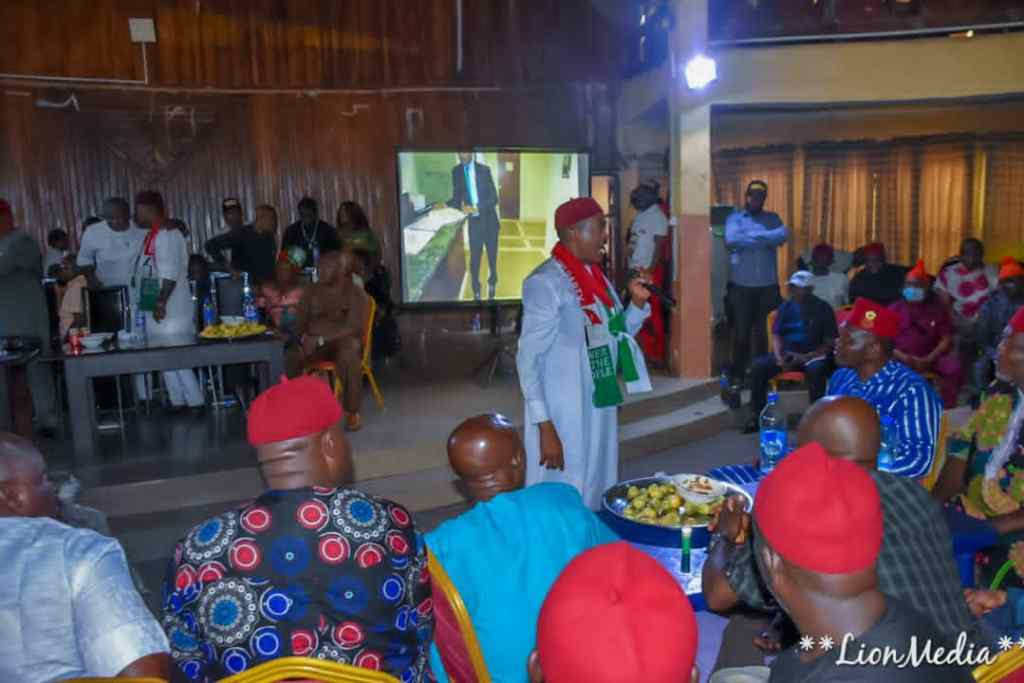 DR GODWIN MADUKA MEETS WITH ALL THE PDP STAKEHOLDERS IN ANAMBRA SOUTH