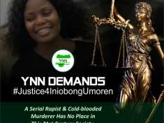 Justice For Iniobong Umoren Must Not Be Delayed- YNN Urges Police To Investigate And Prosecute Culprit(s) Accordingly