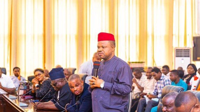 National President of NUJ, Chief Chris Isiguzo