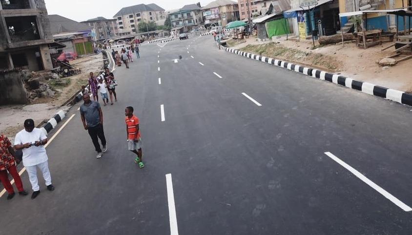 Newly Completed Osusu Road, Aba. Abia State