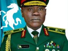 Nigerian new Chief of Army Staff Major General Faruk Yahaya