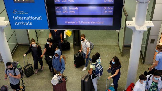 Britain considers vaccine passports to restart international travel.