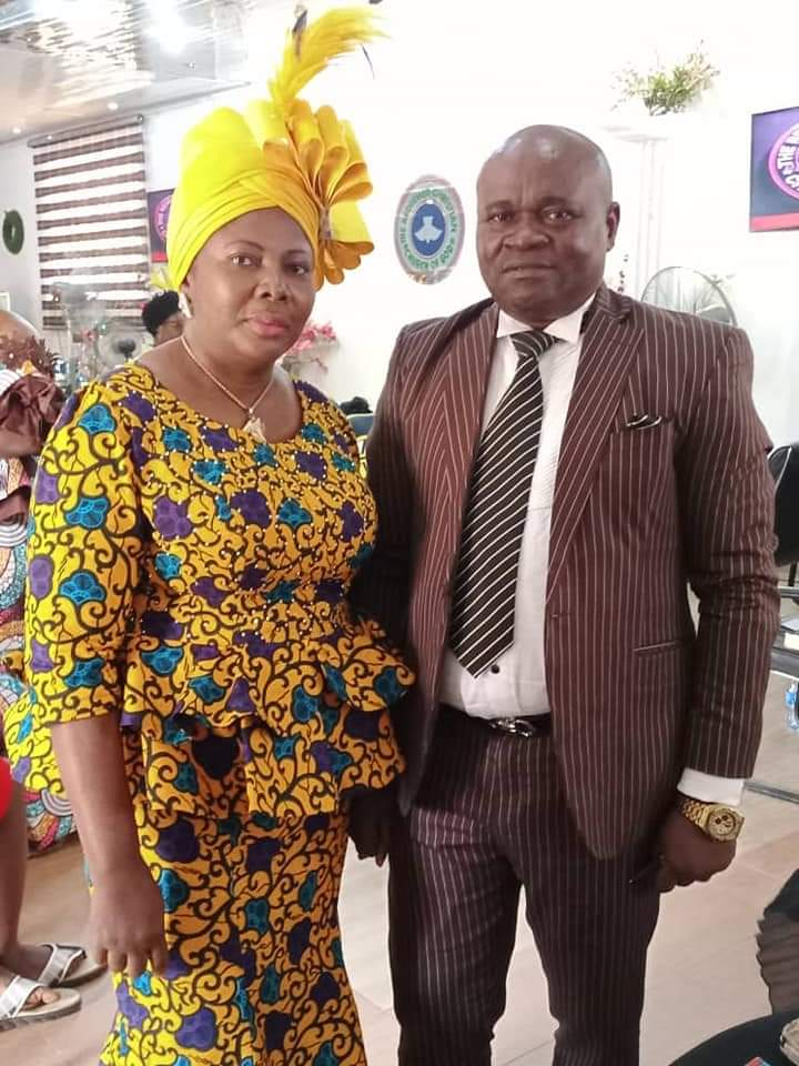 HON. CHIDI OFOEGBU AND WIFE