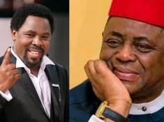 Late Prophet TB Joshua and Femi Fani Kayode FFK