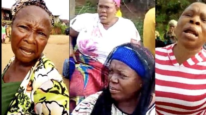 NEKEDE OWERRI IMO STATE BOILS AS UMUEZEROKAM WOMEN PROTEST ON DEVASTATING EROSION IN THEIR AREA