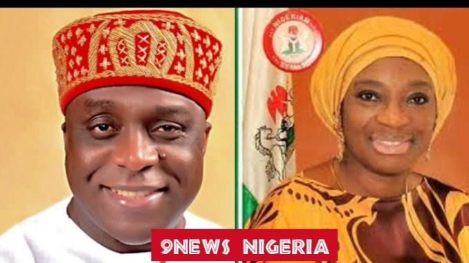 Obiorah Okonkwo and Senator Uche Ekwunife