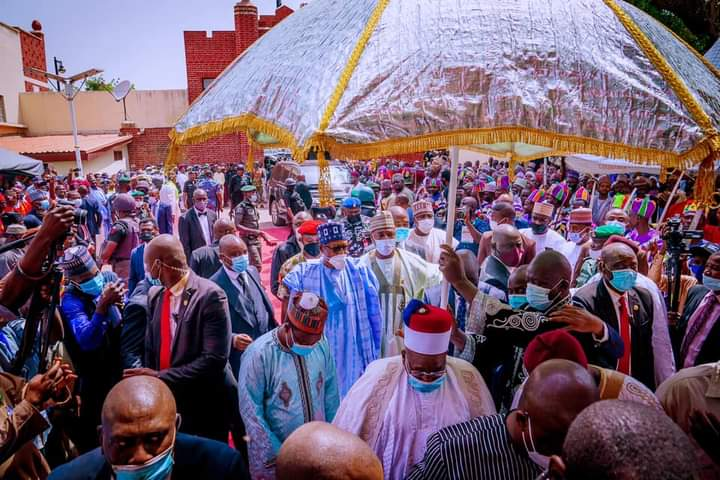 PRESIDENT BUHARI VISITS BORNO STATE TO APPRAISE SECURITY SITUATION