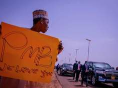 PRESIDENT BUHARI VISITS BORNO STATE TO APPRAISE SECURITY SITUATION.