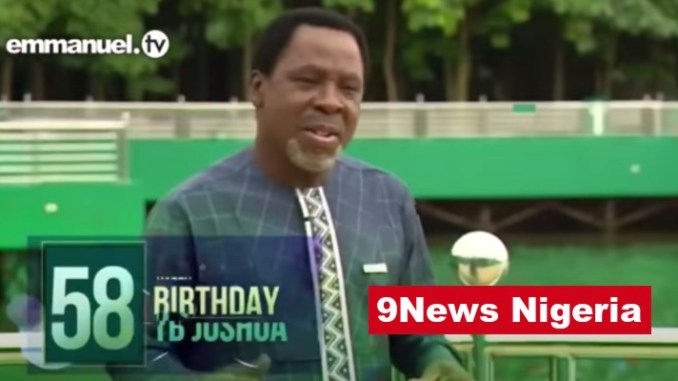 PROPHET TB JOSHUA OF SYNAGOGUE IS DEAD AT 57