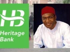 Senator Andy Uba and Heritage Bank