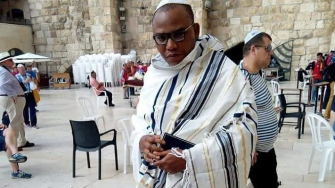 Mazi Nnamdi Kanu, the leader of the Indigenous People of Biafra IPOB