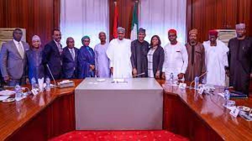 President Buhari's inaugurated economic advisory council