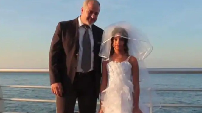 An old man marries teenager