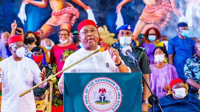 GOVERNOR UZODINMA LAUDS IMO YOUTHS ON THE CELEBRATION OF THEIR DAY IN IMO