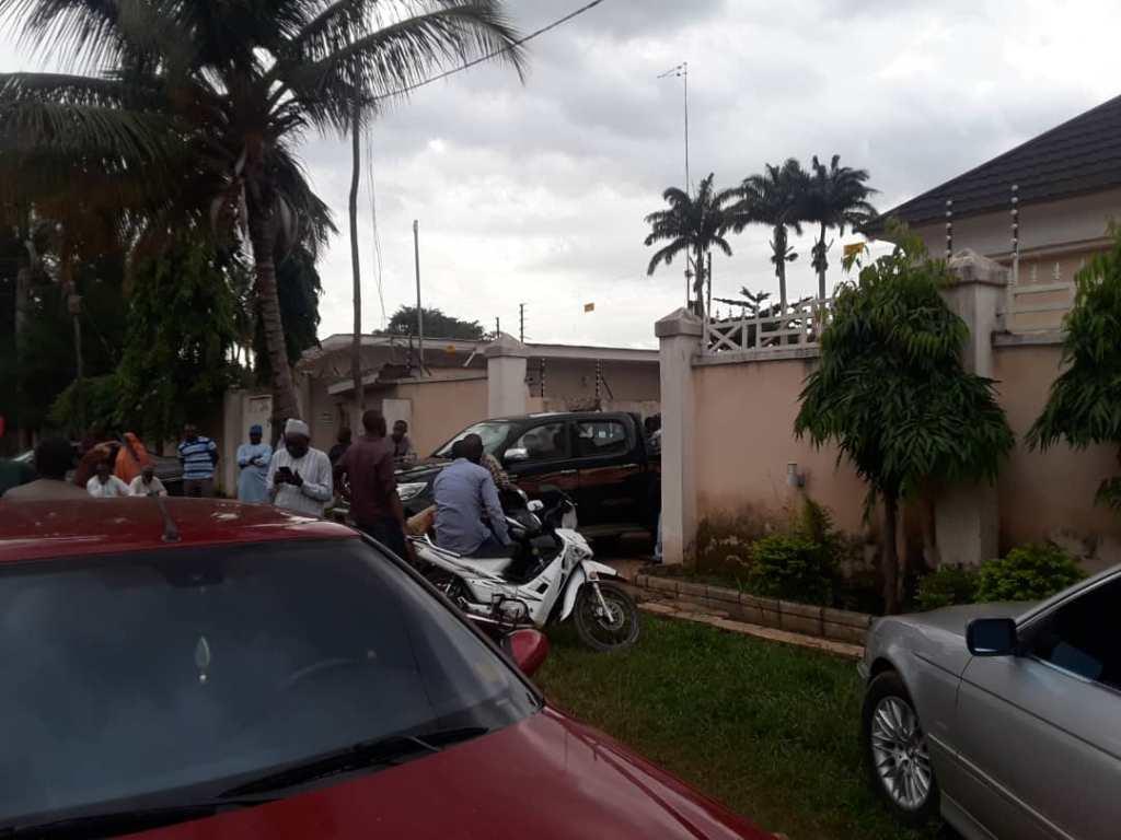 House Where Captain Abdulkarim Bala Na Allah was reportedly strangled to death in Kaduna Estate